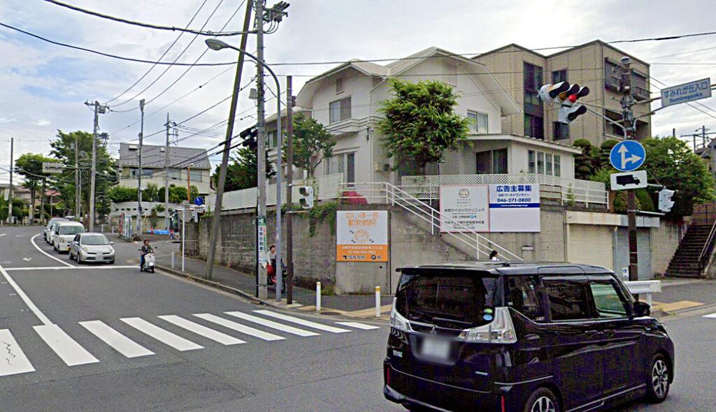 貸し看板|ロードサイン|No.119 横浜市都筑区すみれが丘